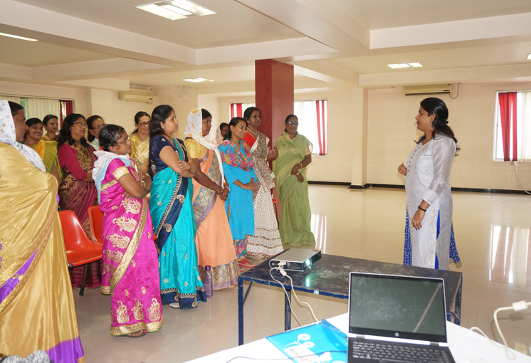 Maharashtra Women Leaders Meeting in Session